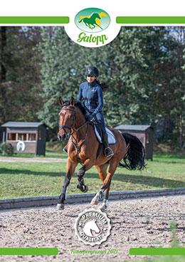 Galopp Pferdefutter-Programm